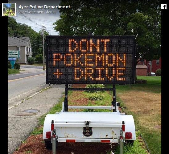 Police Departement Warnungen