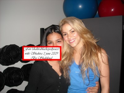 Shakira in her hotel (New York) August 20 Shakira