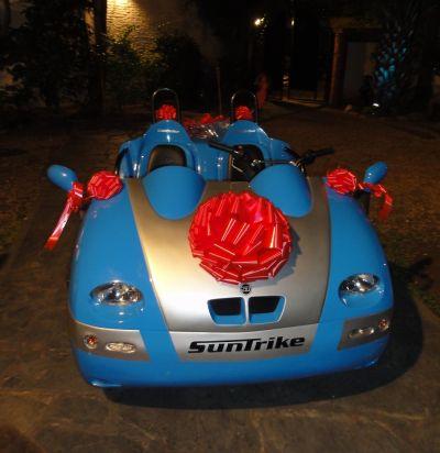 auto moderno para eventos fiestas