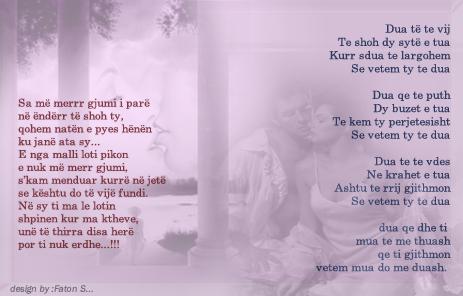 Poezi Qesharake per Dashuri