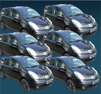 sechs Öttimobile