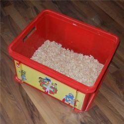 Meerschweinchen Snackbox eingestreut