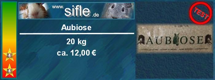 Aubiose als Eintsreu fü Meerschweinchen