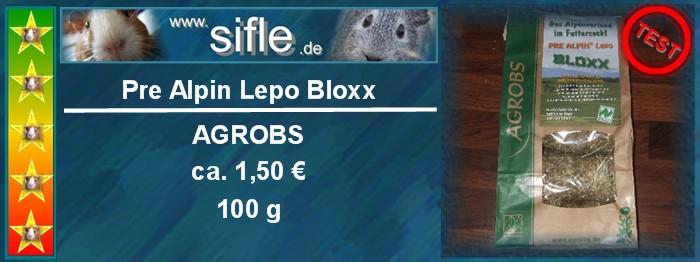 Pre Alpin Bloxx für Meerschweinchen im Test