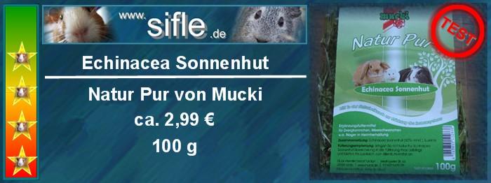 Echinacea Sonnenhut Natur Pur von Mucki im Test