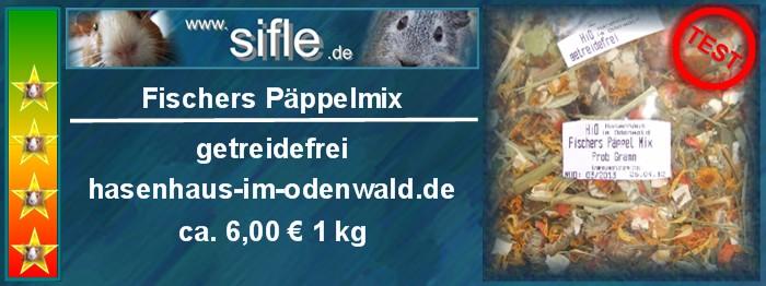 Fischers Päppelmix vom Hasenhaus im Odenwald im Test