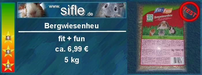 Fit und Fun Bergwiesenheu