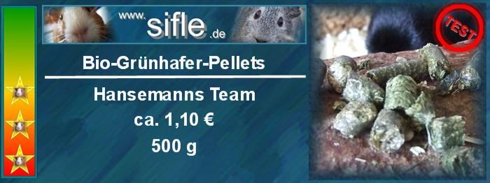 Bio-Grünhafer-Pellets Testlogo