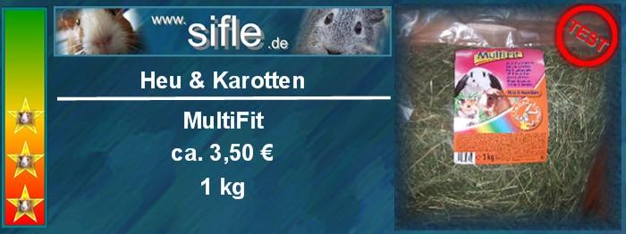 Multifit Heu und Karotte