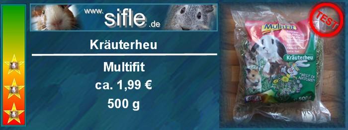 Multifit Kräuterheu