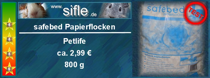 Safebed Papierflocken