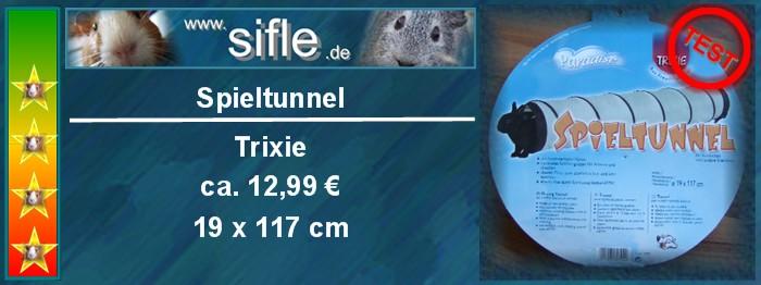 Spieltunnel von Trixie