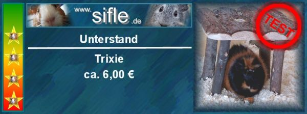 Unterstand von Trixie