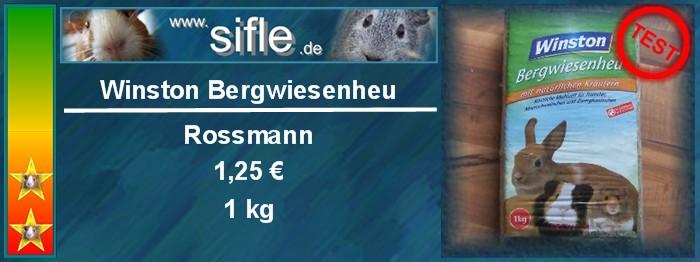 Winston Heu von Rossmann im Test