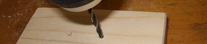 vorbohren von Holzteilen