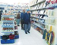 Hergün binlerce kişinin ziyaret ettiği Durak köyündeki dükkanların birçoğunun geliri dergâha ait.