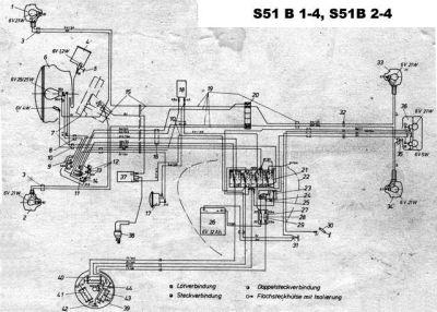 S51 B1-3 Schaltplan