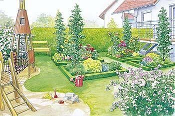 skm garten und landschaftsbau g nter m ller garten beispiel 2. Black Bedroom Furniture Sets. Home Design Ideas
