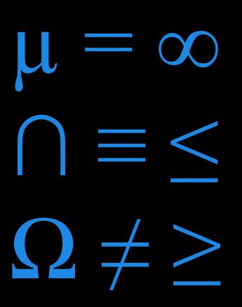 Klavyede Matematik İşaretleri