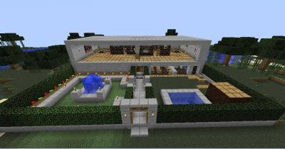 Snupiderondaminecraft mapas for Minecraft casas de lujo