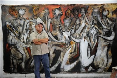"Nelson frente a ""Santiago, carnaval de la tierra"""