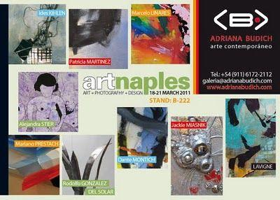 Pintores cubanos en feria de artes