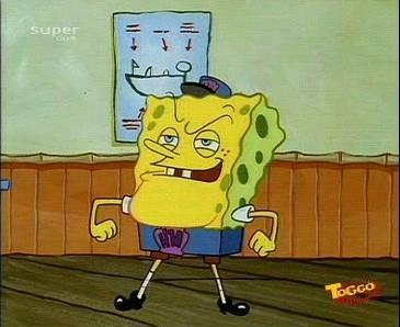 Aufsichtsperson Spongebob