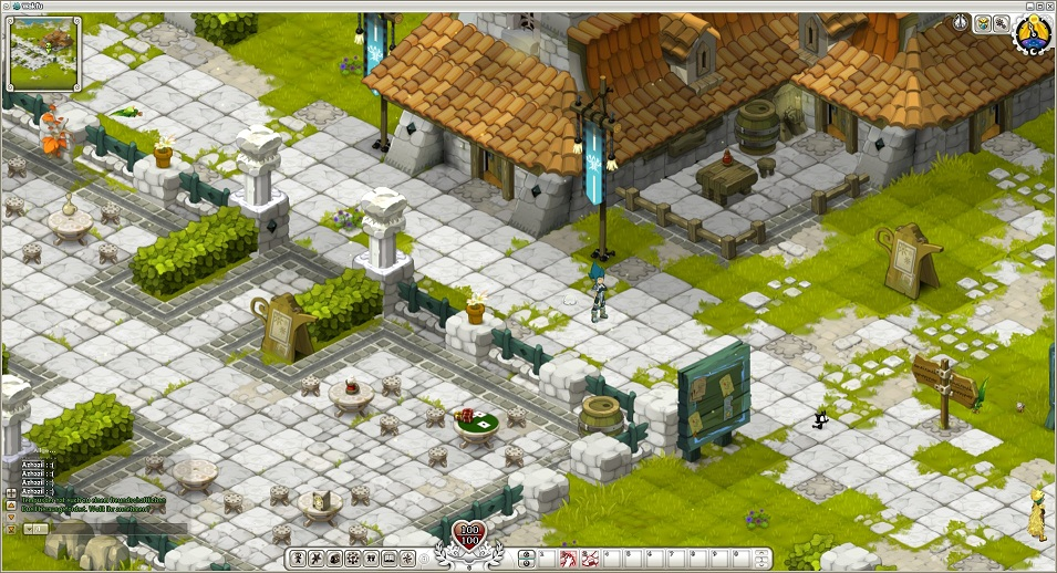 Screenshot aus Wakfu
