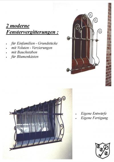 schmiedeeisen f r anspruchsvolle gitter f r fenster. Black Bedroom Furniture Sets. Home Design Ideas