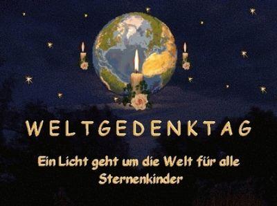Sternenkindleonie Weltgedenktag F 252 R Alle Sternenkinder