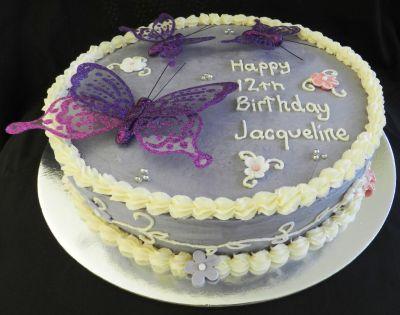 Jacqueline Birthday Cake