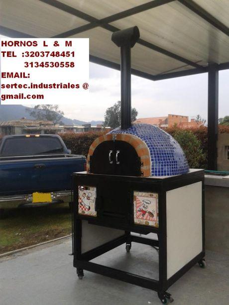 Hornos a le a y gas por conveccion hornos artesanales a - Modelos de hornos de lena ...