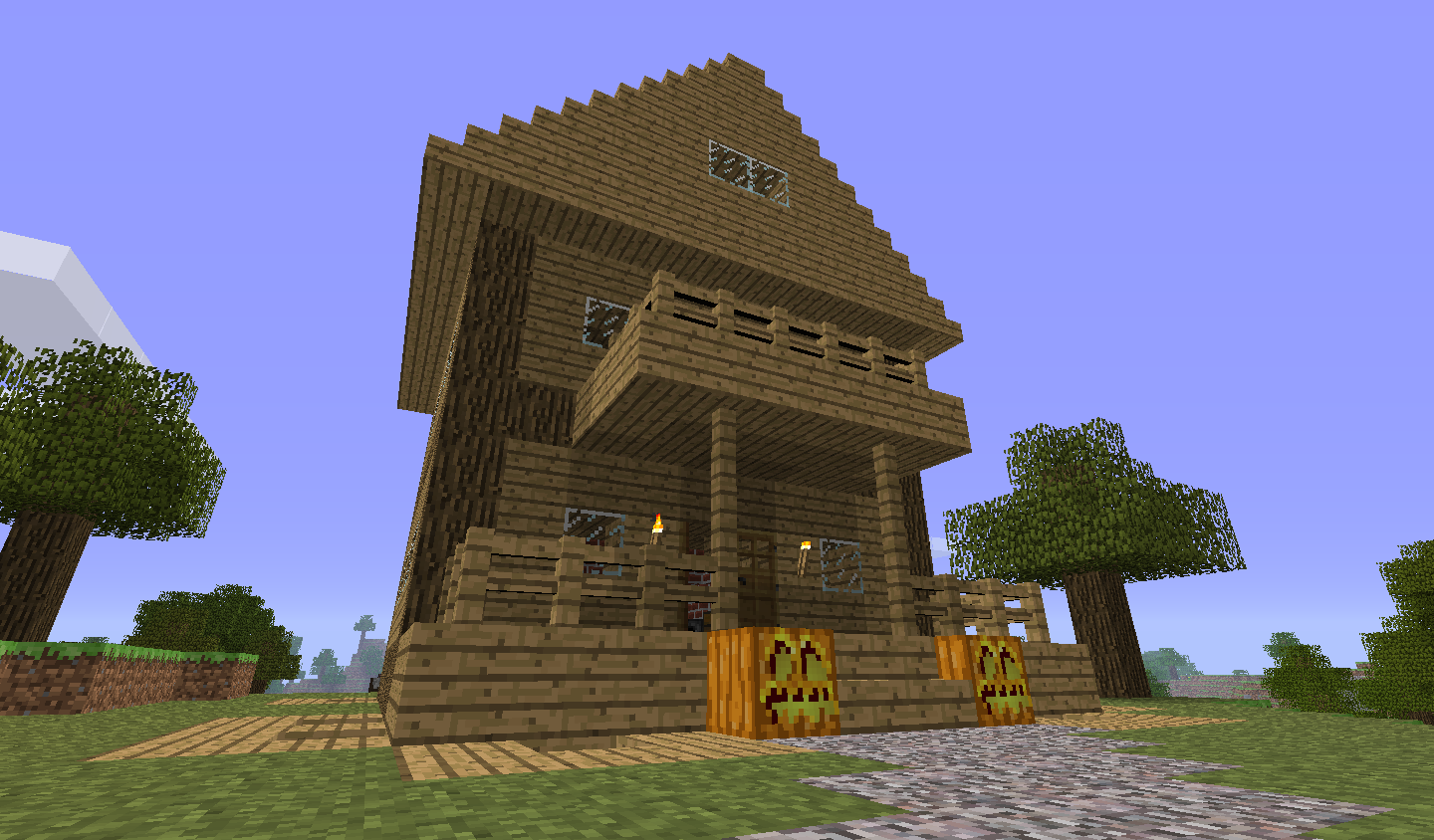 Galerie minecraft holz haus pictures