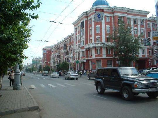 Фото улиц красноярска сегодня