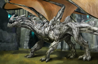Dragon de piedra  Dragon-petreo