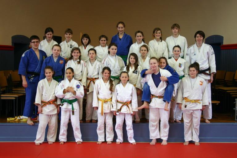 Das Training se... Judo Bayernkader