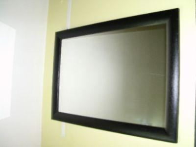 Arcobaleno espejos for Espejo marco negro