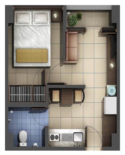 rumah minimalis type 36 on Fery Musyafir: Denah Type 30 dan 36