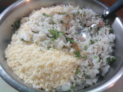 bocadillos de arroz