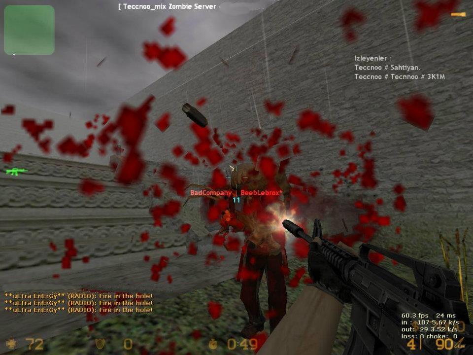 Как сделать зомби сервер в кс 1.6