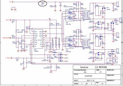 Принципиальная схема монитора proview sp716kp