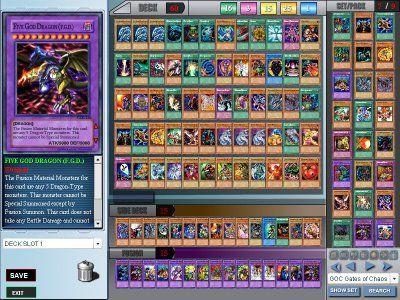 yugioh karten online spielen