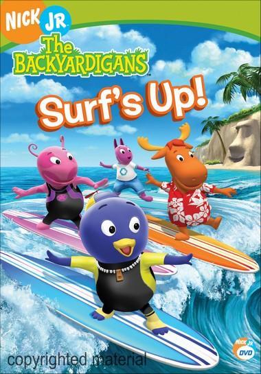 Diversiones con backyardigans el surf es la moda for Surf s up coloring pages