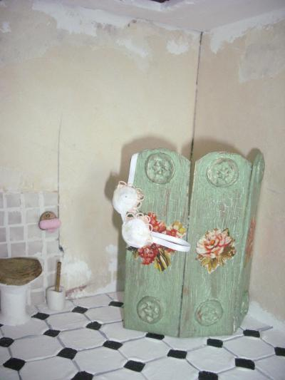 The little world d tails de la maison - Paravent salle de bain ...