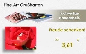 Fine Art Grußkarten - hochwertige Handarbeit