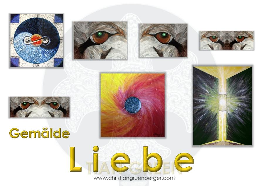 Collection Liebe die Gemälde von christian grünberger TIAN GREEN