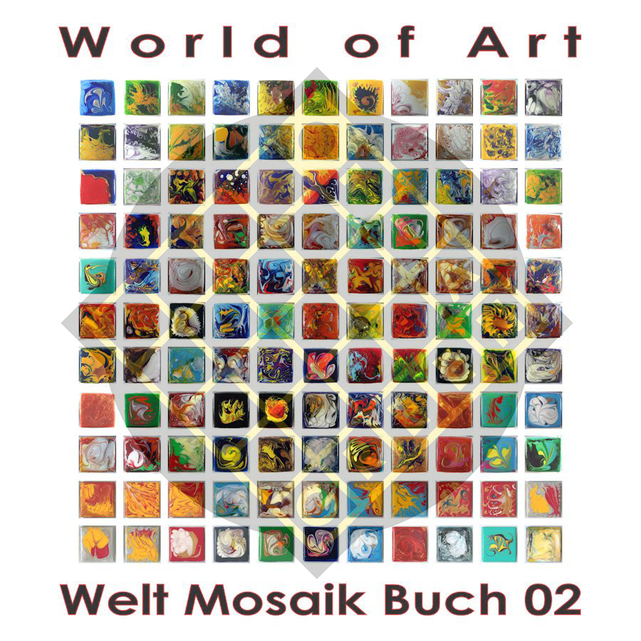Welt Mosaik Buch 02 - World of Art