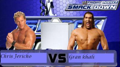 Chris Jericho Vs Gran Khali Casificacion Para El Money In The Bank Jk