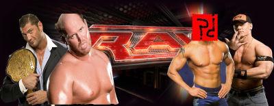 Batista y festus vs john cena y ???.- xwe tag team champion Rawl