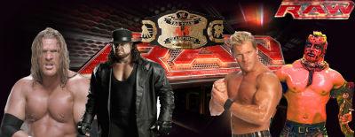 Triple H & Undertaker Vs Chris Jericho & Boogueyman Por El Titulo De Word tag team Team